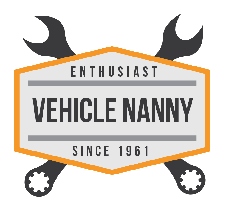 Vehicle Nanny logo with cross wrenches