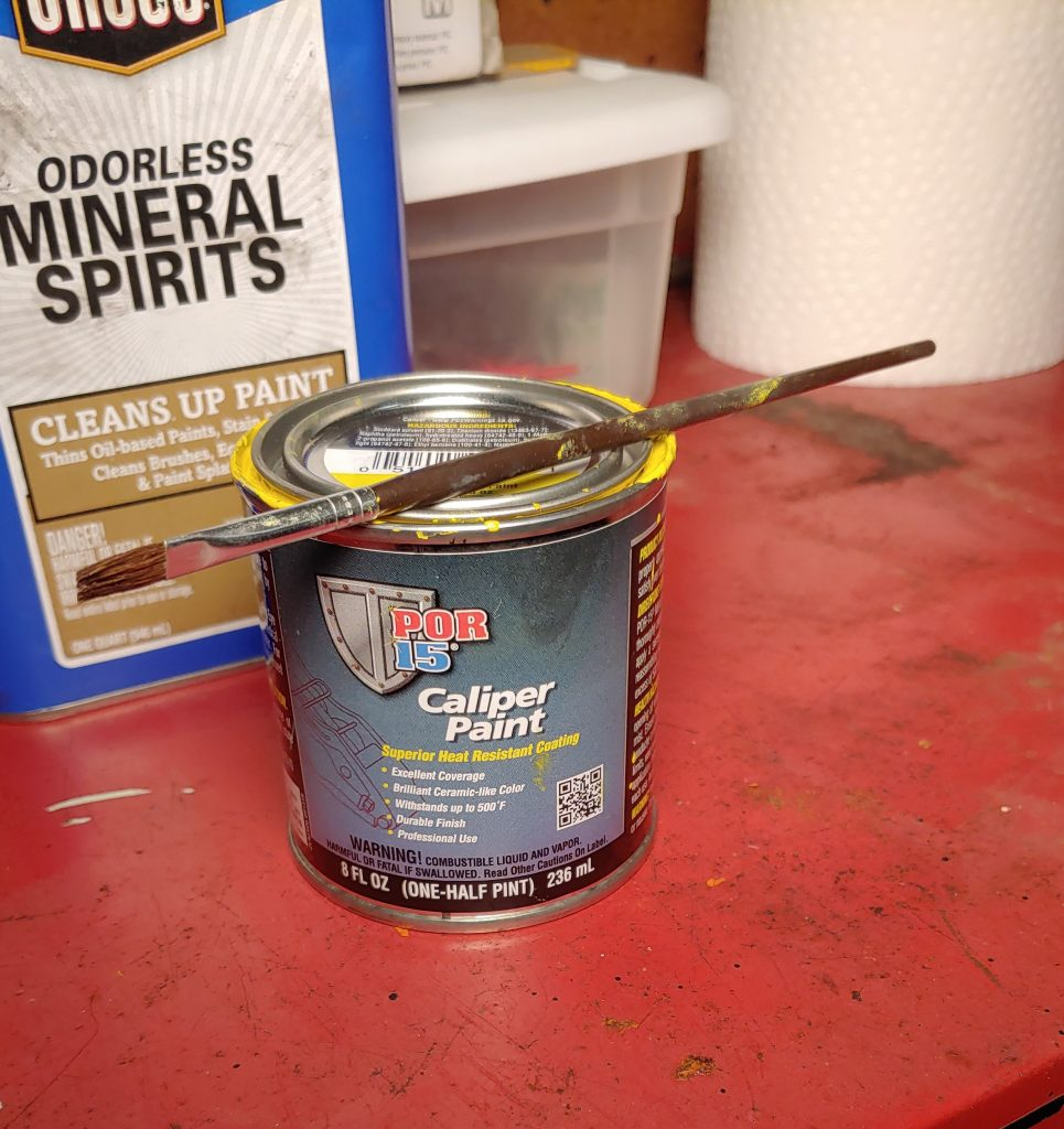 can of brake paint
