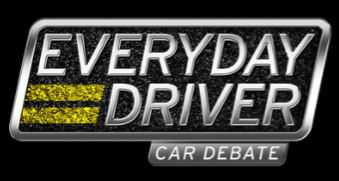 logo for everyday driver podcast