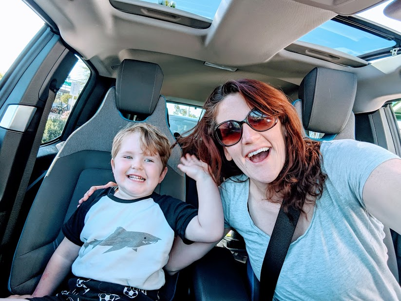 Drive-Thru Interview:  Erica and her BMW i3