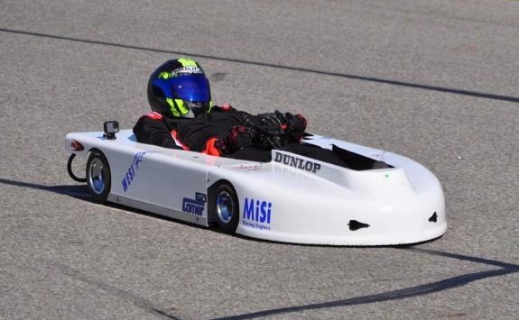 Drive-Thru Interview:  Chris West and His Enduro Kart