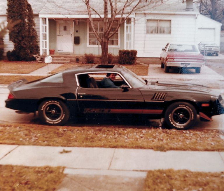 18 year old Vehicle Nanny in his Z28
