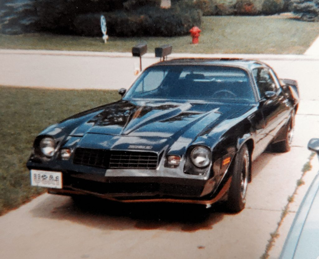 camaro z28 with awesome black paint