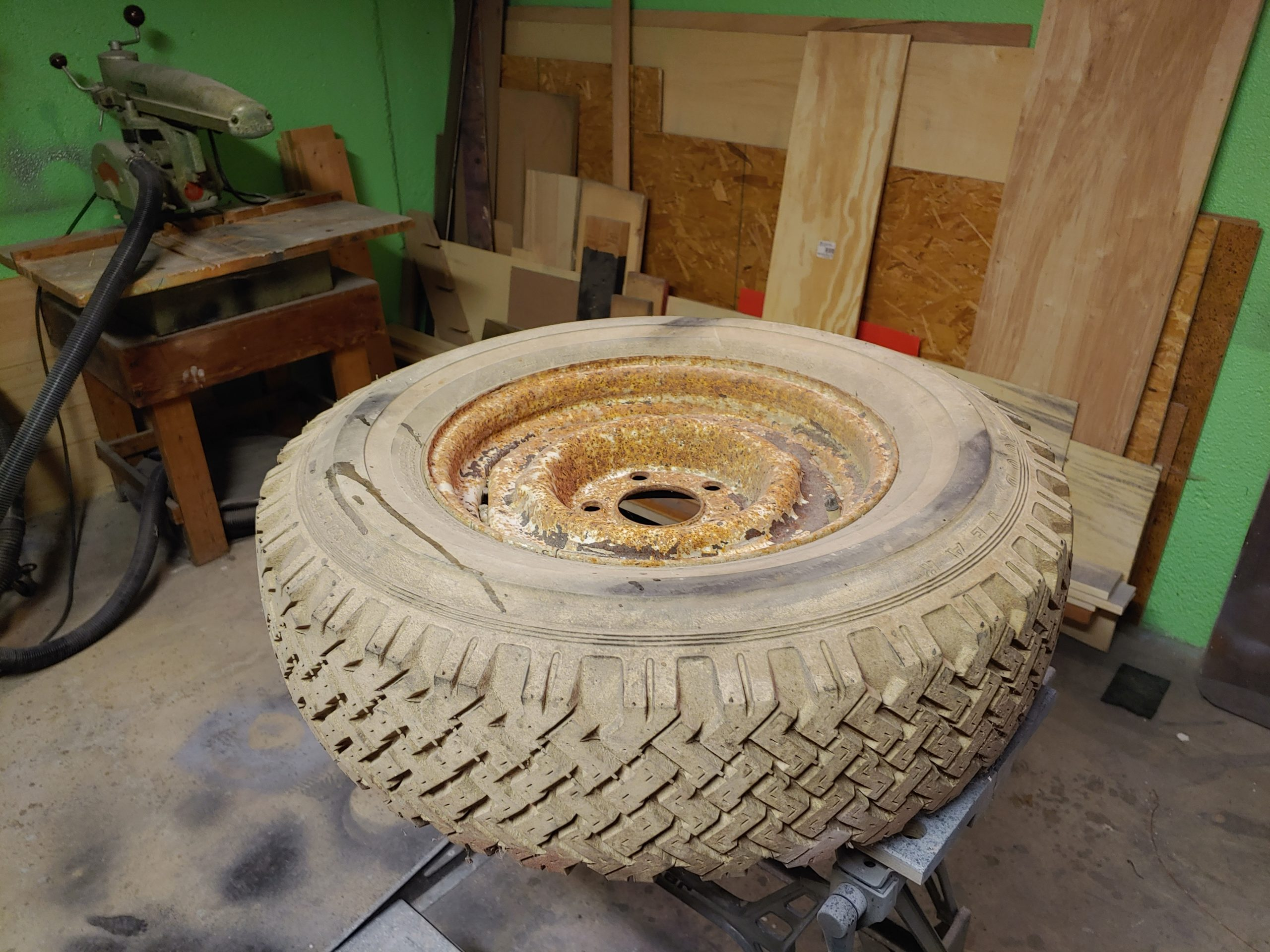 Repurpose Old Tires & Wheels