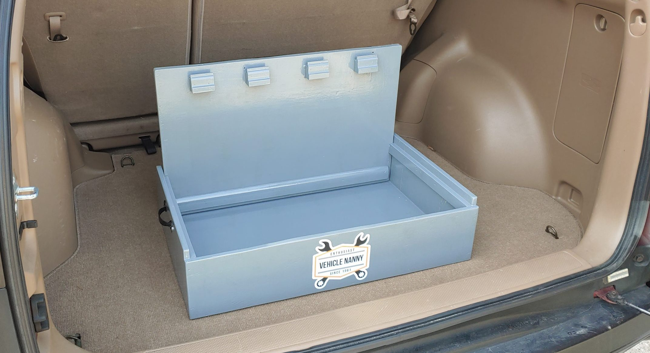 DIY Cargo Step Box