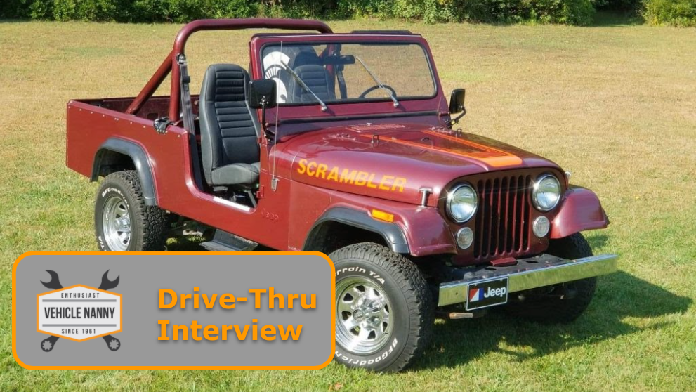 Read more about the article Drive-Thru Interview:  David Smith and his 1982 Jeep Scrambler