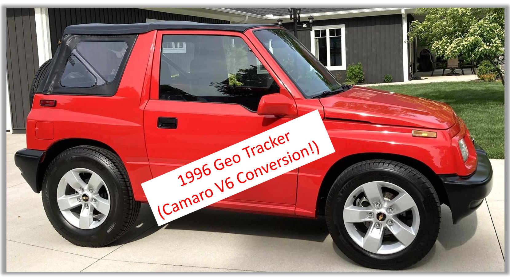 Read more about the article Random Auction Pick:  1996 Geo Tracker