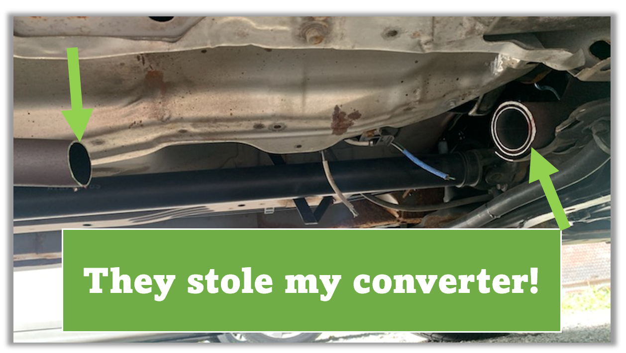 Read more about the article Catalytic Converter Theft