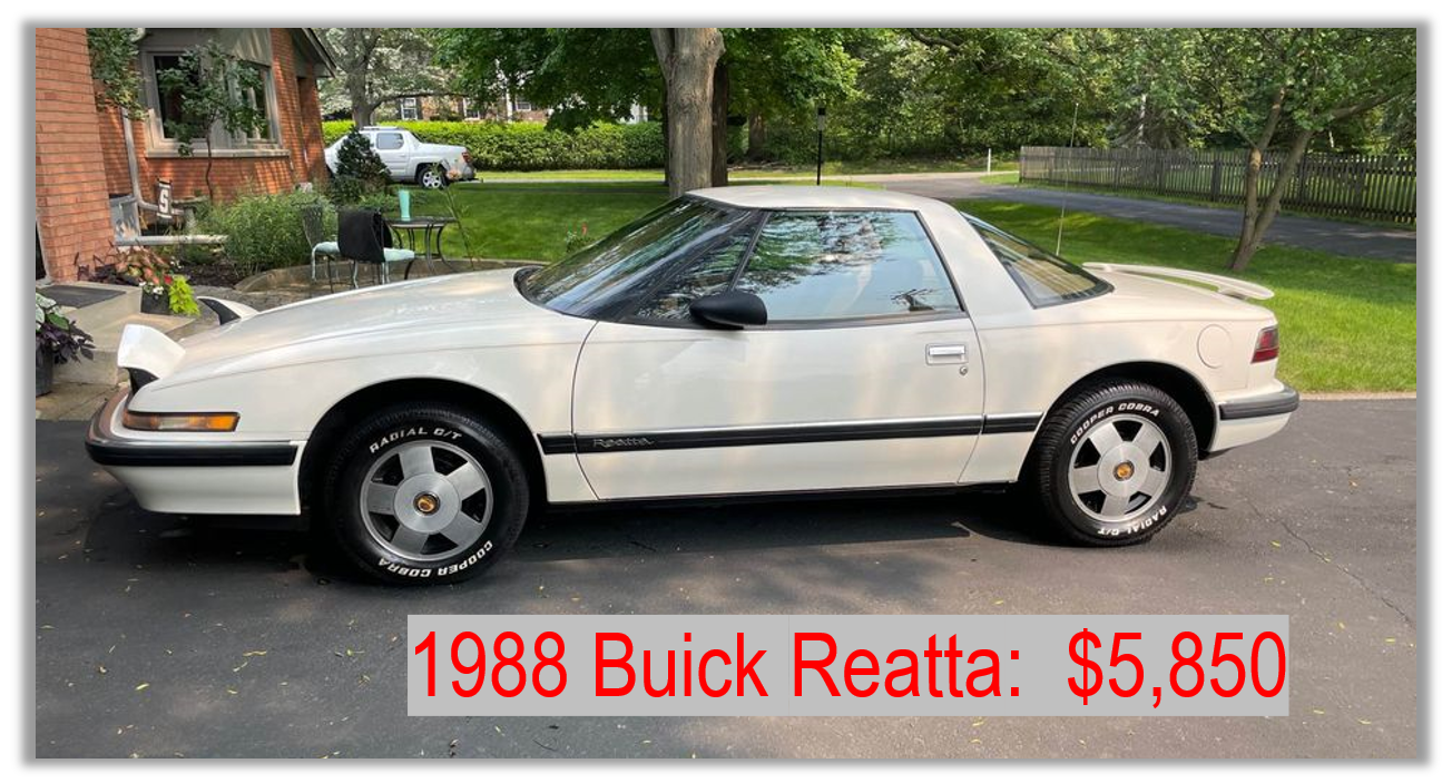 Read more about the article Fun Cars Under $12,000: 1988 Buick Reatta